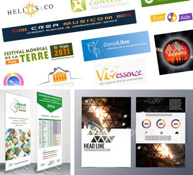Conception & création graphique print et web